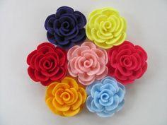 Flower Tutorial TIFFANY ROSE No Sew Felt Flower Pattern Hairclip Headband Brooch Pin Accessory PDF ePattern eBook Tutorial How To on Etsy, $5.00