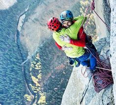 History was made today in Yosemite! Congrats to Tommy Caldwell & Kevin Jorgeson. (1.14.15)