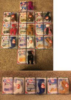 027f2b06b5d Teenie Beanies 441  Mcdonald S Millennium Ty Legends Beanie Babies 2000  Complete Set Nip - gt