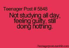 Hope I make an A on the test...(: