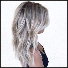 Neue Besten Frisur Eisigen Platin Haar Farbe Ideen - Neue Besten ... | Einfache Frisuren