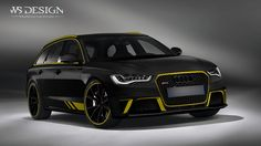 https://flic.kr/p/wCNSke | Audi RS6 yellow
