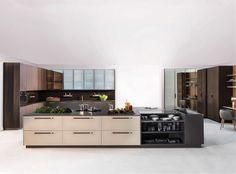 A Linha Cozinha Stylos, da Ornare, é uma combinação de perfeitos acabamentos e design. Puro desejo!! #cozinha #arquitetura #design #projeto