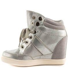 Arewia - Silver Aldo |  $79 BUY ➜ http://shoespost.com/arewia-silver-aldo/