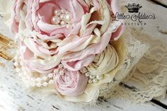 Hey, I found this really awesome Etsy listing at https://www.etsy.com/listing/184872628/baby-headbands-pink-ivory-blushing-pink