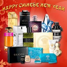 Chinese New Year, Nespresso, Happy New Year, Coffee Maker, Fragrance, Kitchen Appliances, Bottle, Chinese New Years, Cooking Tools