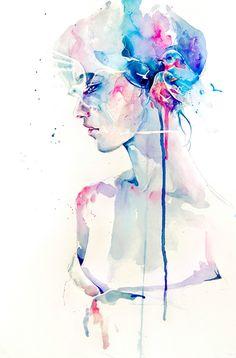 Agnes Cecile (Silvia Peliserro) [Hands down, my favorite watercolor artist]