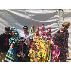 With radios 94.3 Que Buena! Ballet de Sally Savedra!  A Rich, Dynamic Mexican Folklorico and Classical Spanish Dance Company! Available for classes, events, and performances http://balletdesallysaved.wix.com/bdsallysavedra