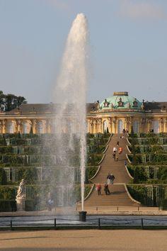 Sans Souci Palace, Potsdam Germany