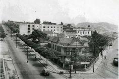 Avenida dos Andradas em 1960  acervo Ramom Brandão. Nesta época eu tinha 8 anos de idade