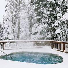 Emerald Lake Lodge | Canadian Rocky Mountain Resorts | Field BC Alberta National Parks, Yoho National Park, Twin Falls, Spa Tub, Emerald Lake, Hotel Amenities, Mountain Resort, Rocky Mountains, Lodges