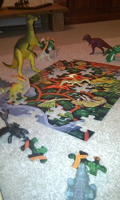 This year our plastic dinosaurs discovered Dinovember - a cool new craze sweeping the dinosaur world where the dinos don't return to their. Plastic Dinosaurs, Child Art, Fantasy Artwork, Toy Boxes, Our Girl, Wonderful Time, Raising, Little Ones, Art For Kids