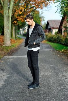 Nike Roshe Run, Asos Denim Jacket