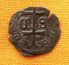 1440-1453 Hungarian denar coin - Ladislaus