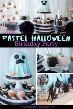 Halloween 1st Birthdays, Halloween First Birthday, Pink Halloween, Halloween Party Decor, Holidays Halloween, Halloween Treats, First Birthdays, 2nd Birthday, Halloween Gender Reveal