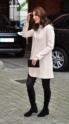 The Duchess of Cambridge, 35, is visiting Hornsey Road Children's Centre, after postponing...