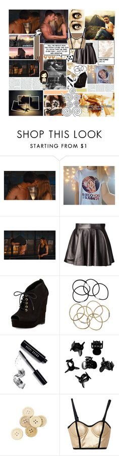 """""""Smoking stardust can create a strong dependence to dreams... ★"""" by blueivym ❤ liked on Polyvore featuring Olsen, Olympia Le-Tan, Diane Von Furstenberg, H&M, Bobbi Brown Cosmetics, C.R.A.F.T., Mustard Seed, Rachel, Chanel and Swarovski"""