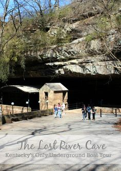 Visiting the Lost River Cave in Bowling Green, Kentucky's only underground boat tour. #gearedforfun