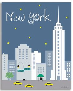 New York City is available in an array of finishes, materials, and sizes, this retro inspired wall art will make New York Cityfeel close to your heart with its bright color palette and unique design.