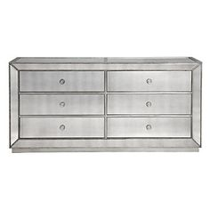 Introducing Z Gallerie's Omni Mirrored 6 Drawer Chest. $1,599.00