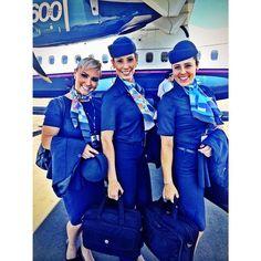 Tripulação que deixou saudades! #azul #linhasaereas #brasileiras #brasil #azullinhasaereas #azulando #aviation #aviation #voeazul #azulgiveaways #cms #comissariadevoo #comissariadebordo #aeromoça #fly #flight #flightattendant #atr #atr600 #blueangels