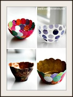 How to Make Pappersskalar – Homemade Paper Bowls