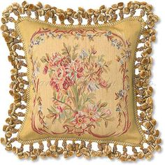 Classic French Tapestry Pillow