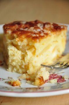 Mon gâteau madeleine aux pommes