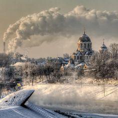 Vilnius in Winter. -25°C