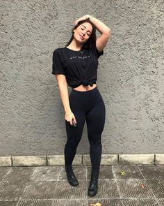 all black outfit casual - Outfits ta Mode Outfits, Chic Outfits, Trendy Outfits, Inspired Outfits, Summer Outfits, Girl Outfits, Fashion Outfits, Vacation Outfits, Fashion Weeks