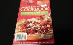 Betty Crocker Cookbook Paperback Recipe Sampler 50 Favorites from the Big Red