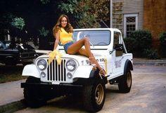 'Dukes of Hazzard' Actress Catherine Bach, Daisy Duke's Jeep.