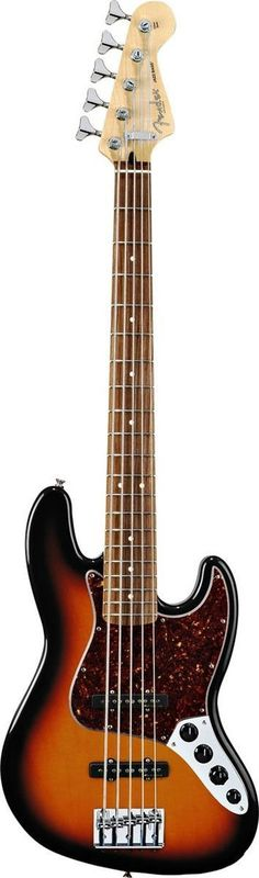 Fender Deluxe Active Jazz Bass V 5 String Bass Guitar