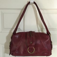 Burgundy Shoulder Bag by Cato! for $25.00. Check it out: http://www.vinted.com/womens-bags/purses/19991129-burgundy-cato-shoulder-bag.