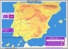 RELIEVE 3 Alonso, Social Studies, 1, World, Joseph, Maps, Geography, Teaching Geography, Interactive Map