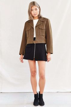 Urban Renewal Recycled Eisenhower Jacket - Urban Outfitters