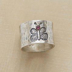 sweet little butterfly ring