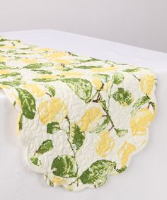 Take a look at this Lemon Table Runner by Park Designs on #zulily today!