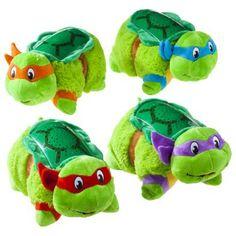 Pillow Pets Dream Lites Teenage Mutant Ninja Turtles Collection