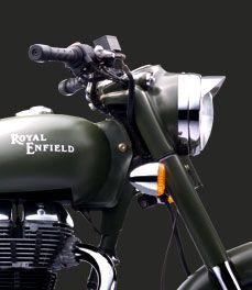 Royal Enfield Classic Battle Green