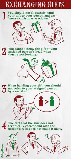 secret santa rules a year after the worst secret santa ever