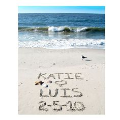 8x10 PersonalizedHappily Ever After Sandwriting by malibelle, $28.00