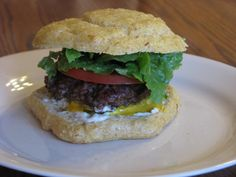 blogger says: I tried the Basic Sandwich Bun recipe and LOVED it!  It made a great hamburger bun.