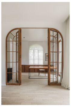 Arched Interior Doors, Arched Doors, Arch Interior, Interior Architecture, Interior Photo, Room Door Design, Door Design Interior, House Design, Design Interiors