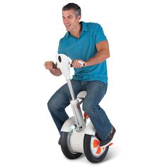 The Seated Body Lean Directed Transporter - Hammacher Schlemmer
