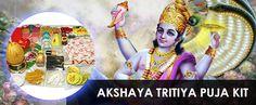Akshaya Tritiya is celebrated as the birthday of God Parusrama. Akshaya Tritiy Puja kit has been organised by our experienced priests