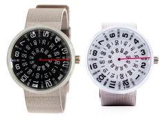 """La montre analogique circulaire Mykonos Visus est une création """"Mykonos Design"""" http://www.moodds.com/mode/803-montre-analogique-circulaire.html"""