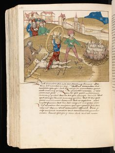 Punishments: Spiezer Chronik by chronicler Diebold Schilling, 1484/85;  Bern, Burgerbibliothek,Mss.h.h.I.16, f. 506