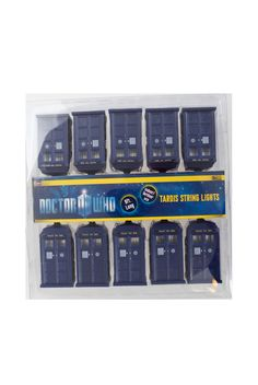 Dr Who Doctor Tardis Time Machine Indoor Outdoor Long String Lights Xmas Tree Dr Who, My New Room, My Room, Doctor Who Christmas, Dark Christmas, Christmas Ideas, Doctor Who Tardis, String Lights, Hot Topic