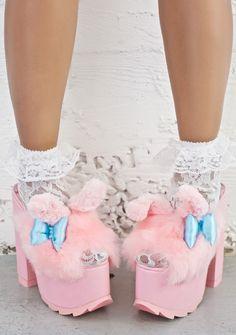 bfe34342dc7f Y.R.U. X Sanrio My Melody Dream Platforms Goth Shoes